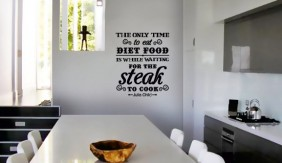 Food Quote- Steak