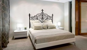 Headboard Wrought Iron