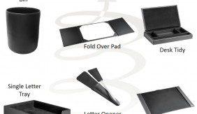 Leather Desk Range