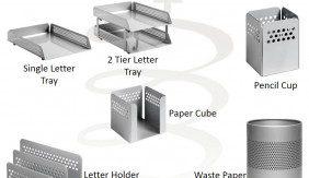 Perforated Desk Range