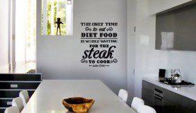 Food Quote- Steak