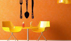 Wall Cutlery Retro Style
