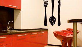 Wall Cutlery with a Twist