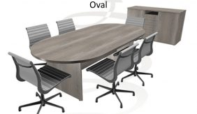 Willow Oval Boardroom