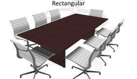 Willow Rectangular Boardroom