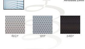 Aluminium Perforated 25mm