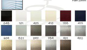 Aluminium Plain 25mm